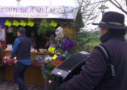 Marché de Noël traditionnel - Crédit photo izart.fr