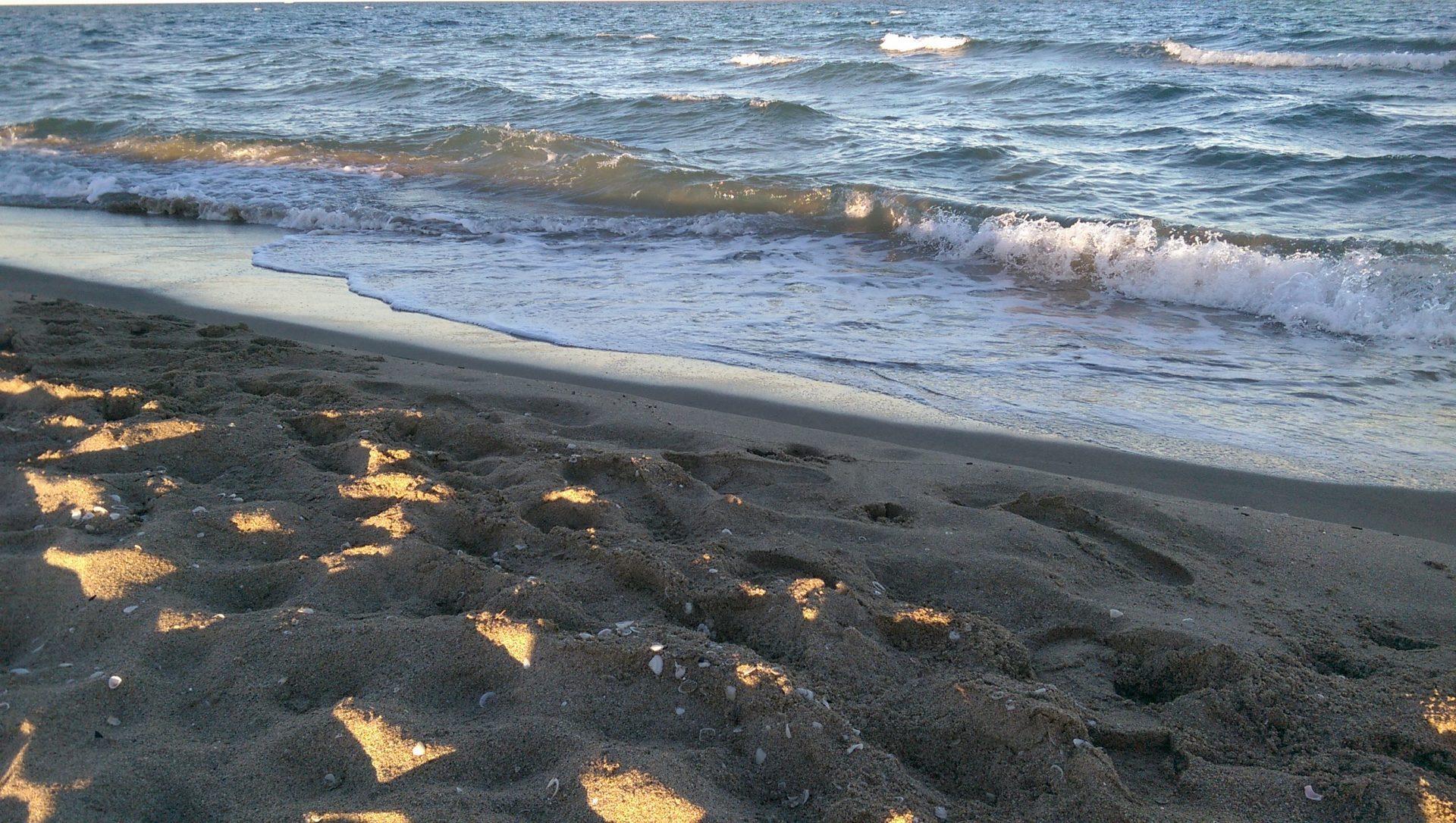 Un petit verre à la mer après l'effort - Crédit photo izart.fr