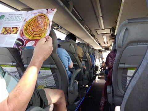 Le Flixbus repart dans 3 minutes - Crédit photo izart.fr