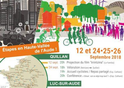 Tour Alternatiba Haute Vallée de l'Aude